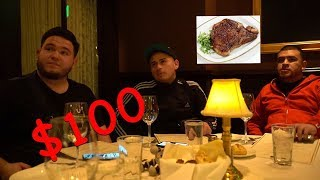 EATING $100 STEAKS WITH FUERZA REGIDA!