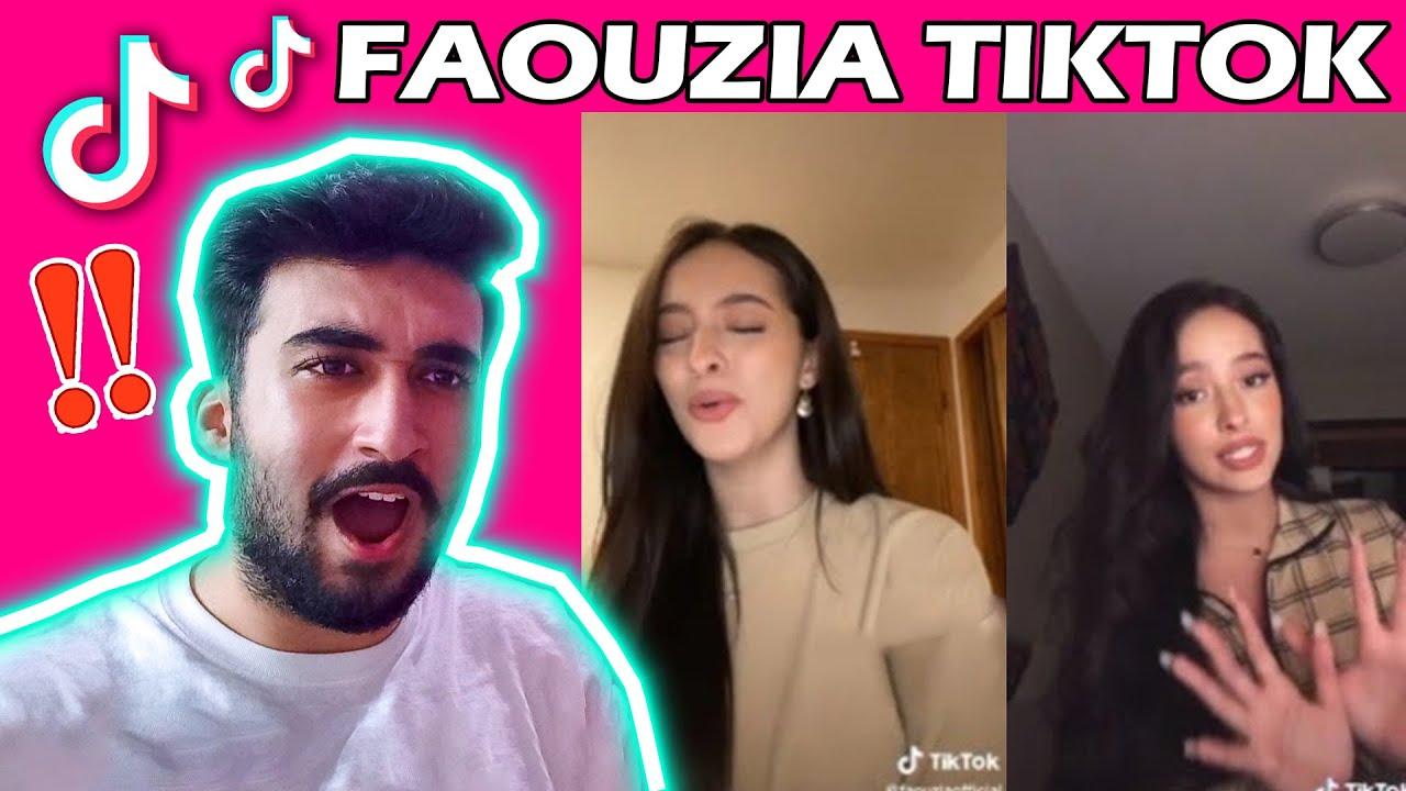 **THE QUEEN OF TIK TOK** 7 minutes of Faouzia singing on Tiktok ✨❤️   ARAB GUY REACTION