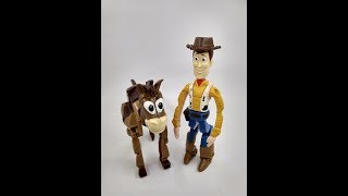 REVIEW ACTION FIGURE WOODY //CATCH EGG EDITION//