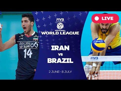 Iran v Brazil - Group 1: 2017 FIVB Volleyball World League