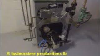 annual oil burner service found some problems