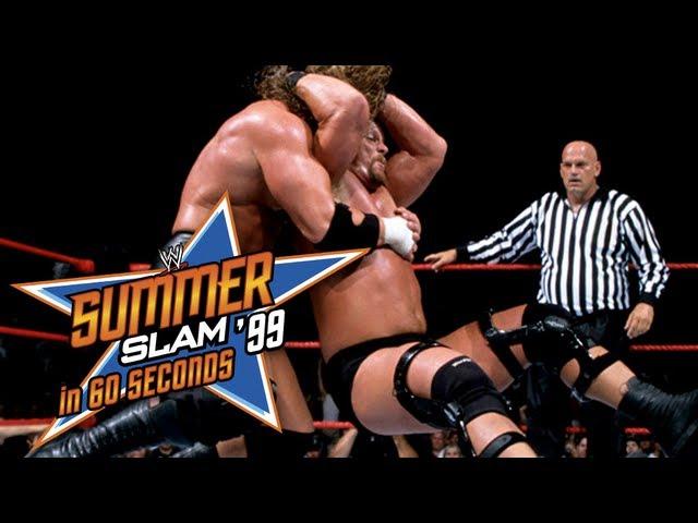 SummerSlam in 60 Seconds: SummerSlam 1999