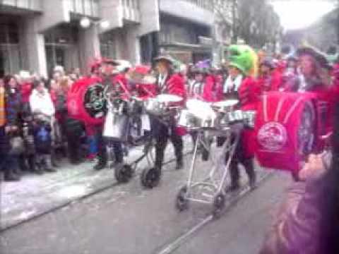 Carnaval em Zurich Suisse 2012