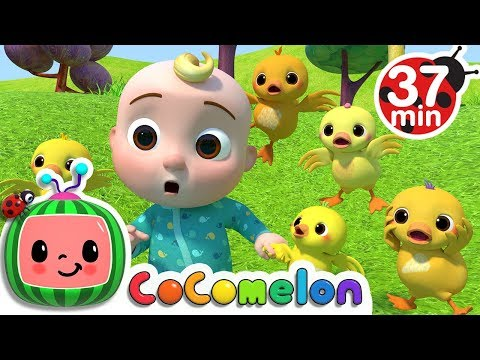 Five Little Ducks 2  +More Nursery Rhymes & Kids Songs  ABCkidTV