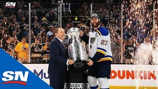 Download St. Louis Blues Hoist First Stanley Cup In Franchise History Mp3 and Videos