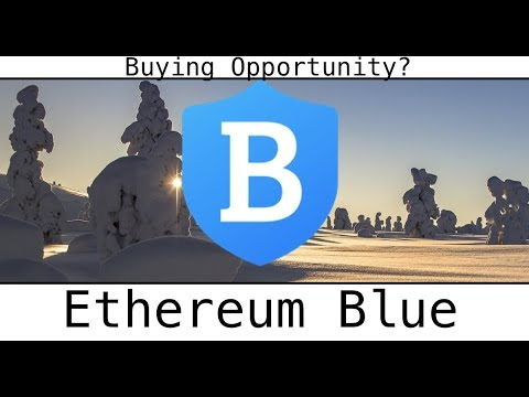 Ethereum Blue Securing Cryptocurrency