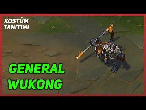 General Wukong (Kostüm Tanıtımı) League of Legends