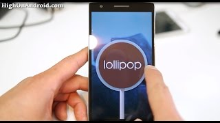 Android 5.0.2 Lollipop ROM + Root for OnePlus One!