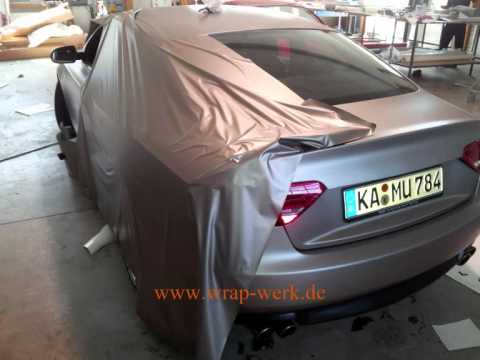 wrap auto folieren car wrapping audi a5 g youtube. Black Bedroom Furniture Sets. Home Design Ideas