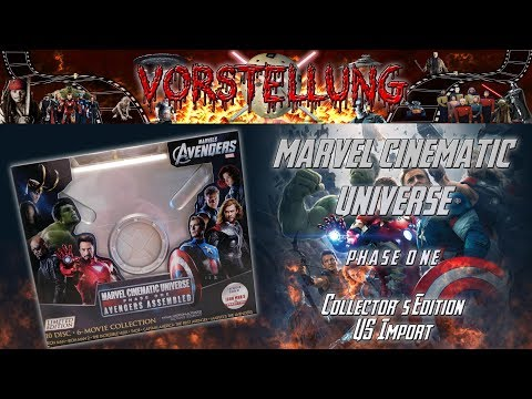 Unboxing - Marvel Cinematic Universe - Phase 1 - Collector´s Edition - US Import