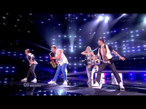 HD HDTV MOLDOVA Eurovision Song Contest 2010 1st semifinal  Sunstroke Project Olia Tira Run Away