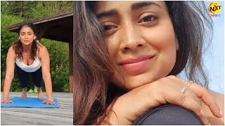 Actress Shriya Saran Latest Hot Yoga Video   Yoga Day   Tollywood   TVNXT Hotshot