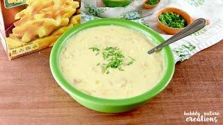 How to Make Easy Cheesy Potato Soup