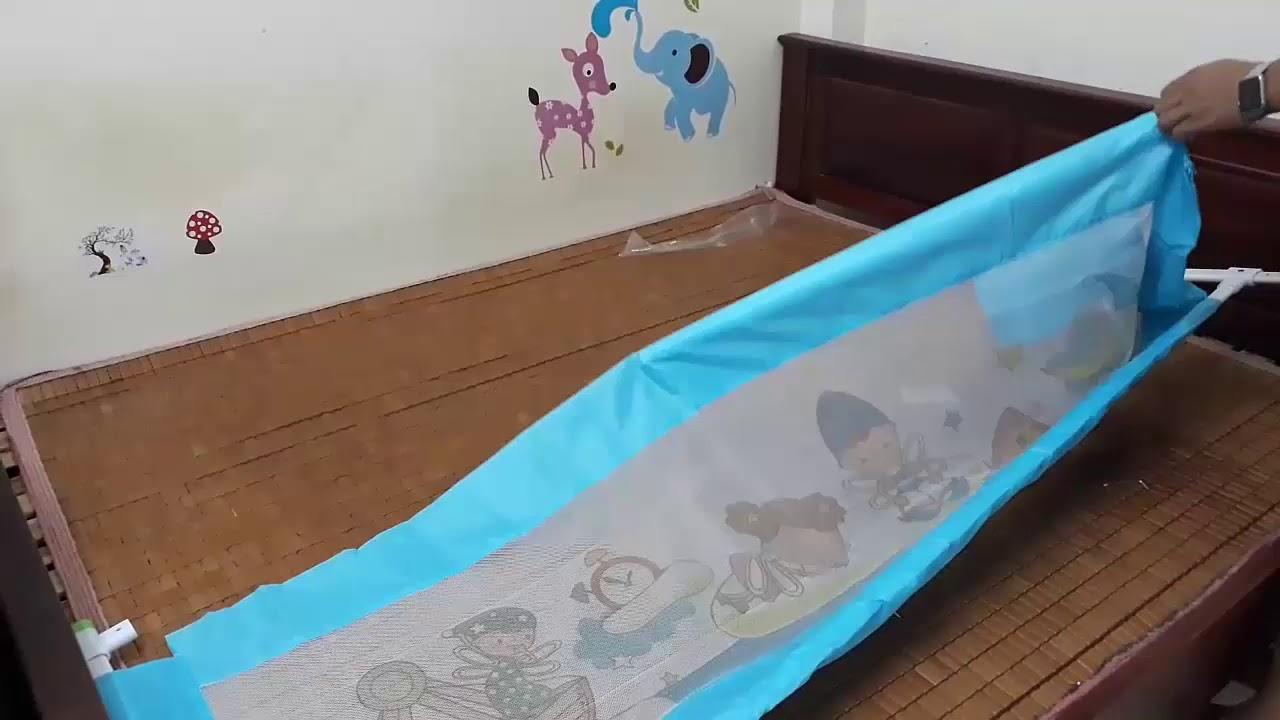Hướng dẫn lắp đặt thanh chắn giường