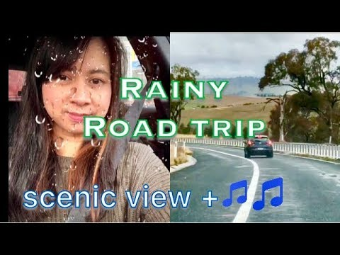 Rainy ROAD TRIP Orange To Bathurst, NSW, Australia