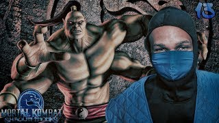 Mortal Kombat Shaolin Monks Story Mode Part 13 - GORO BOSS FIGHT