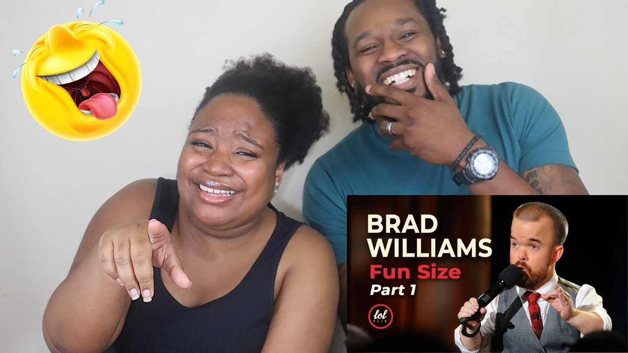 Download FIRST TIME REACTION TO BRAD WILLIAMS   Brad Williams Fun Size • Part 1  Reaction