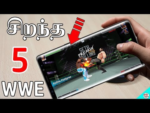 Top 5 WWE Wrestling Games For Android / Offline And Online Game #2 | Tamil Server