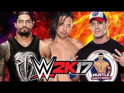 Roman Reigns vs Shinsuke Nakamura vs John Cena thumbnail