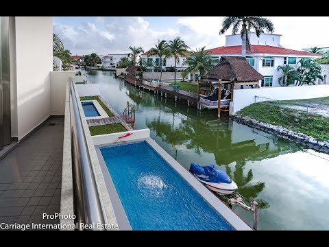 Cancun Water Front Residence - Isla Romantica