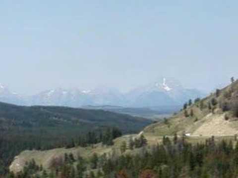 découverte du massif du Grand Téton
