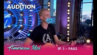 Week 2 Fails: Are These CRAZY Auditions Funny Or Sad? | American Idol 2018