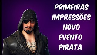 FIRST IMPRESSIONS NEW PIRATE EVENT-PATCH 8.20-FORTNITE SAVE THE WORLD