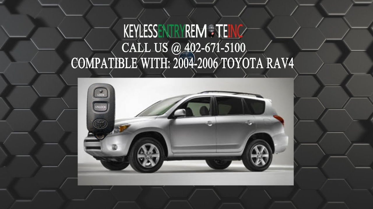how to change rav4 key battery