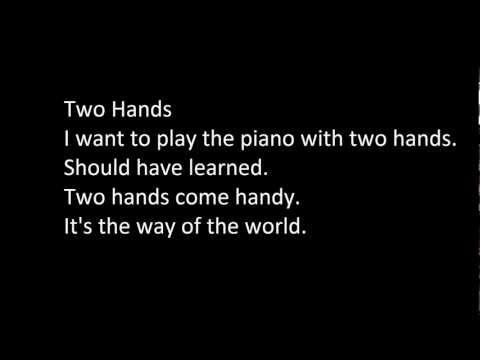 The Ting Tings - Hands (Lyrics)