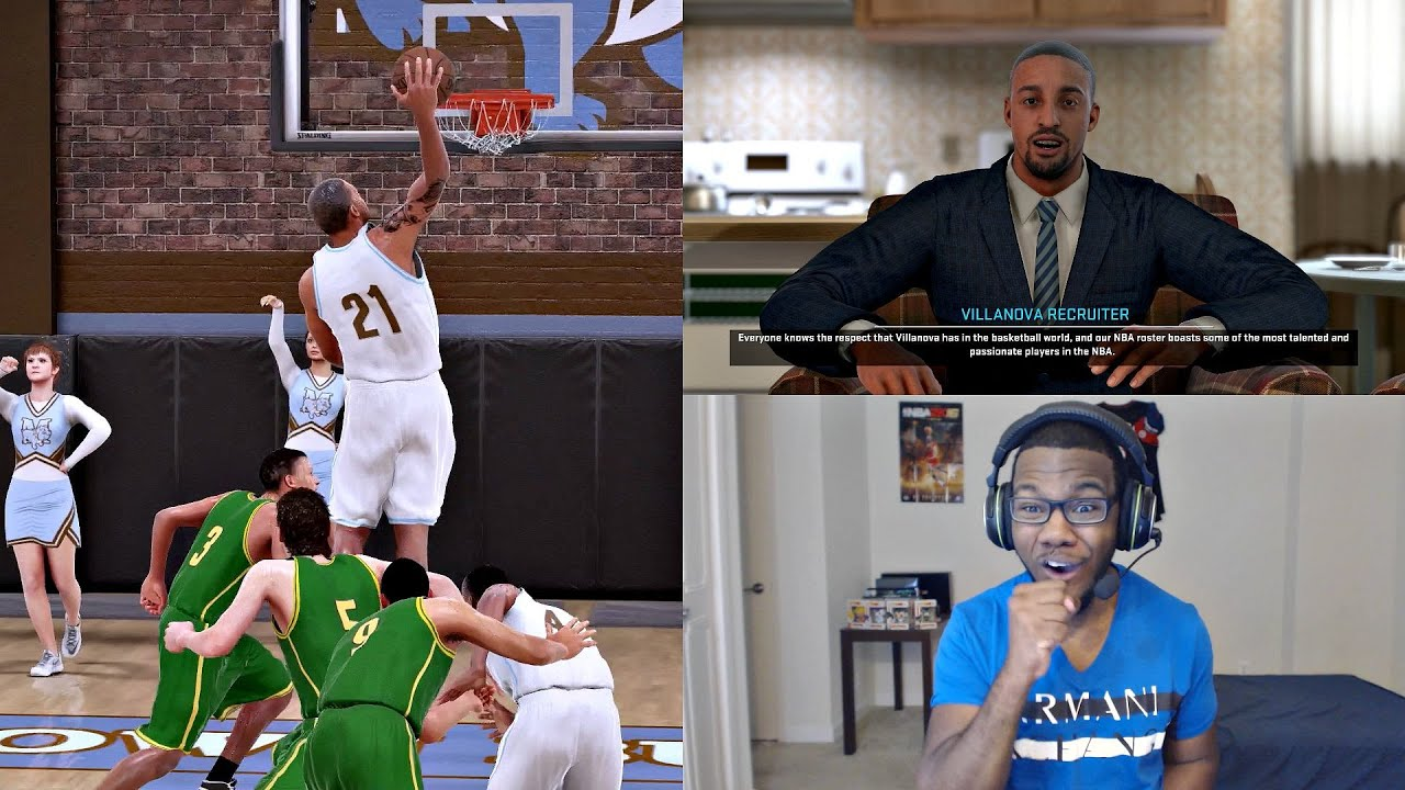 22fc75ee2a81 NBA 2K16 PS4 MyCAREER - 1st High School Game! College Recruits WITNESS  GREATNESS!! Ep. 3