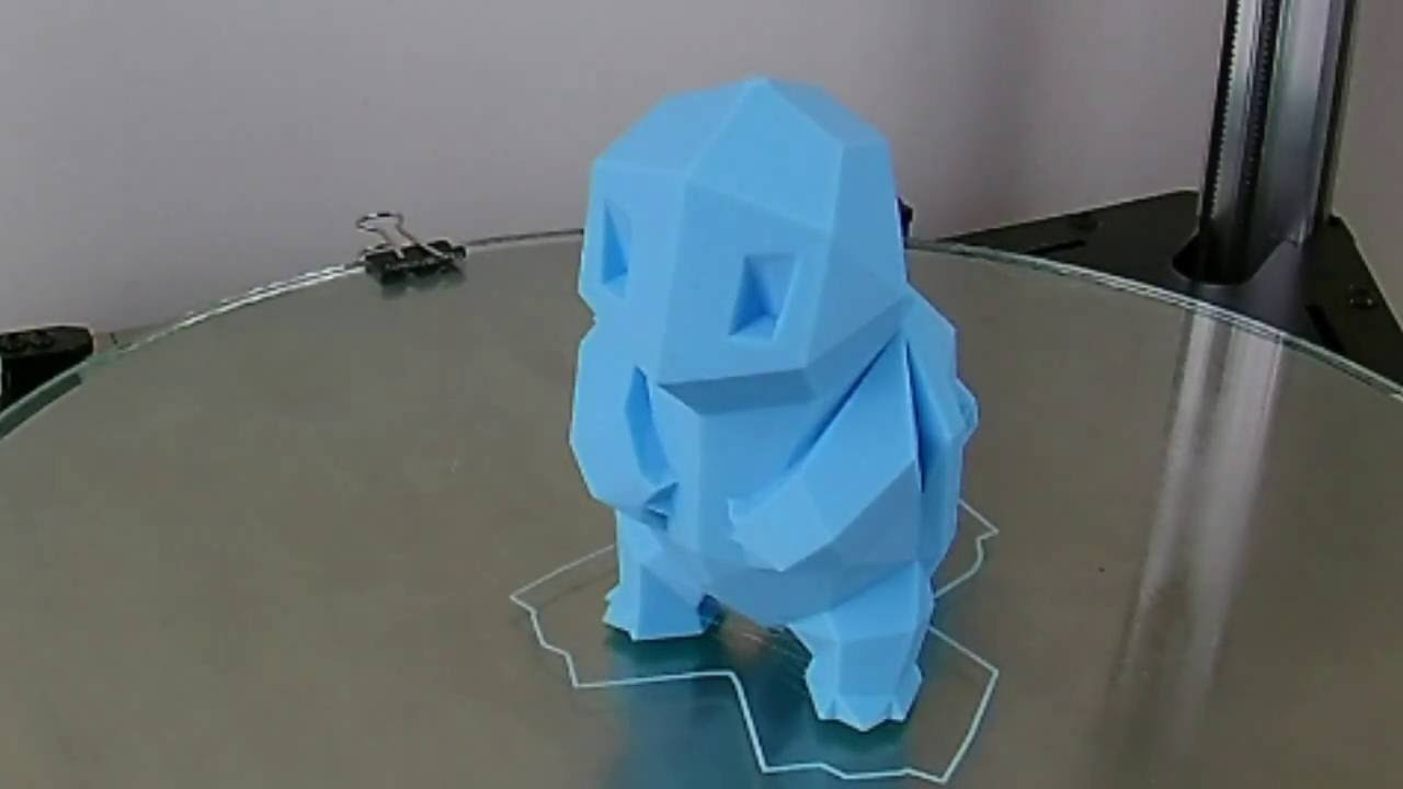3d printing time lapse low poly squirtle youtube 3d printing time lapse low poly squirtle jeuxipadfo Images