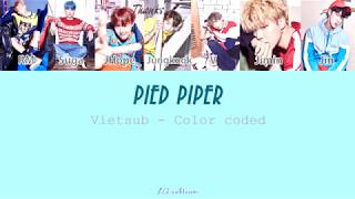 Video [VIETSUB] PIED PIPER - BTS (Color coded) download MP3, 3GP, MP4, WEBM, AVI, FLV Juli 2018