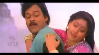 Romantic Tamil Hit Song Of Chiranjeevi & Vijayshanthi || Ponne Anbana Song (Thangamalai Thirudan)