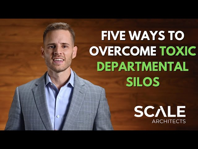Five ways to overcome toxic departmental silos