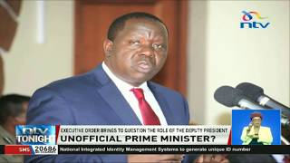 President Kenyatta appoints CS Matiang'i as lead in National government projects