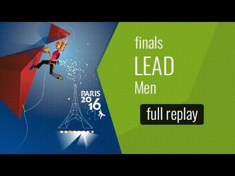 IFSC World Championships Paris 2016 - Lead - Finals - Men
