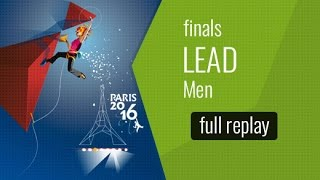 IFSC World Championships Paris 2016 - Lead - Finals - Men