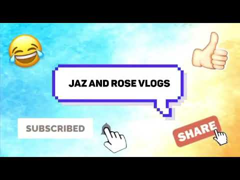 Welcome To Jaz And Rose Vlogs 🎥🤪