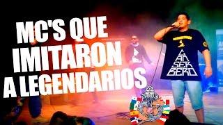 MC'S Que Imitaron A Raperos Legendarios | Batallas De Gallos thumbnail