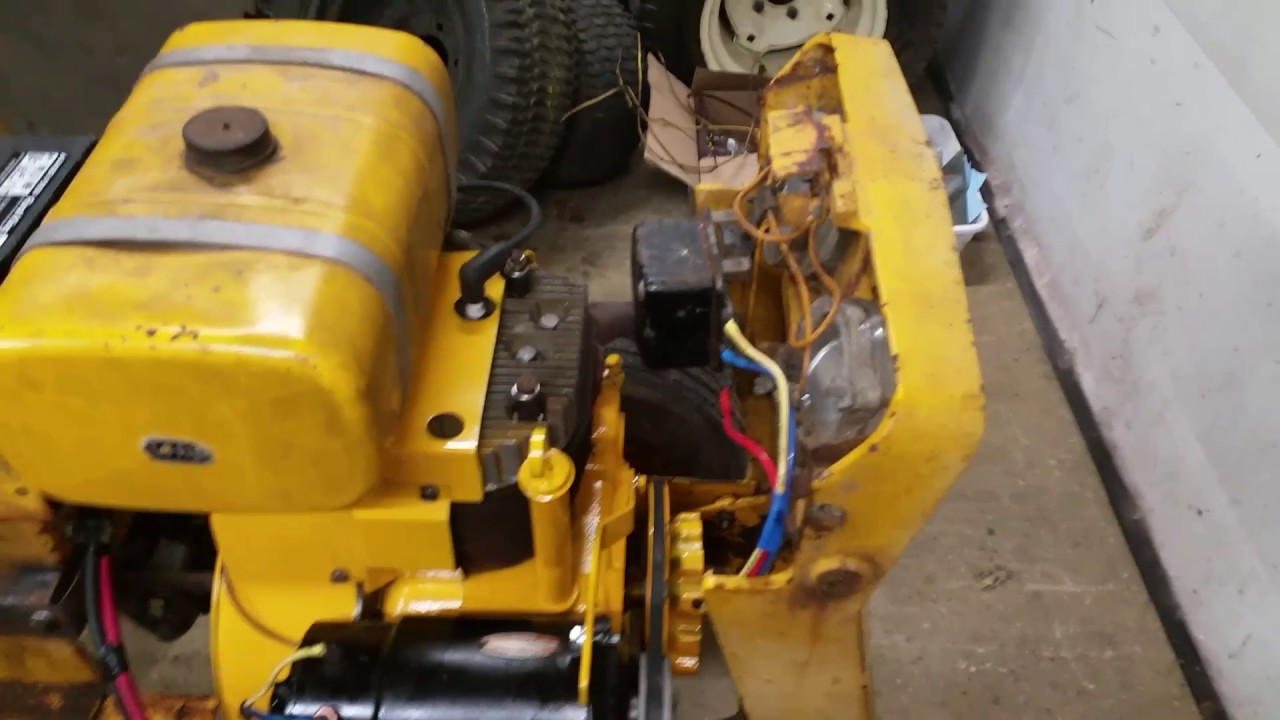 small resolution of 147 cub cadet update on it and rebuilt the wire harness youtube cub cadet 147 wiring diagram