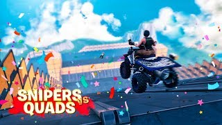 Download 🛴 SNIPERS VS QUADS | FORTNITE Mp3 and Videos