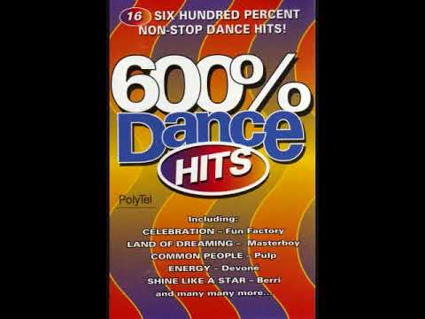 600% Dance Hits - Various Artists