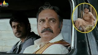 Prabhas Mirchi Movie Scenes | Nagineedu Helping Poor Girl| Koratala Siva, Anushka | Sri Balaji Video