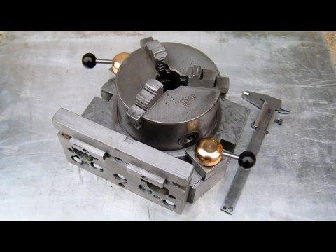 homemade rotary table