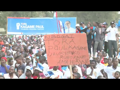 RPF Presidential Campaign | Nyagatare -Town, 22 July 2017