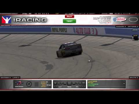 iRacing Track Guides - Auto Club Speedway (Oval)