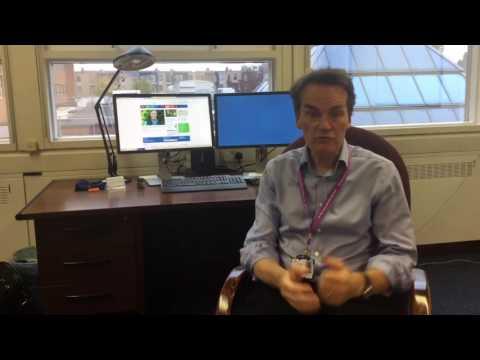 St George's Chief Executive, Simon Mackenzie, discusses CQC report (1 November 2016)
