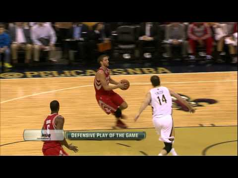 Jason Smith Meets Parsons at the Rim for the Rejection