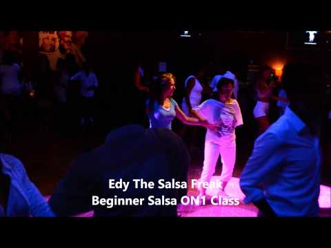 Edy The Salsa Freak Salsa ON1 Class  SOS All White Party TSR