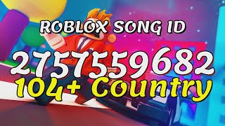 104+ Country Roblox Song IDs/Codes - Best Country Songs of All Time - Top Country Music Videos